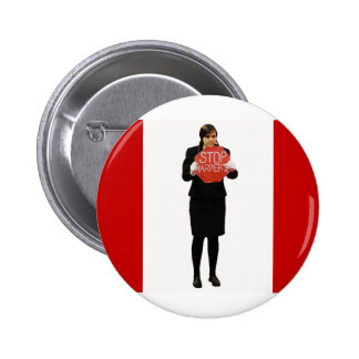 Stop Harper Button