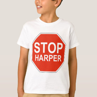 Stop Harper Design in support of 2015 election T-Shirt