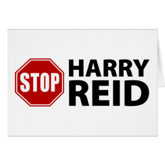 Stop Harry Reid Card