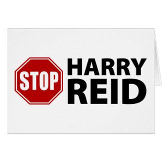 Stop Harry Reid Card