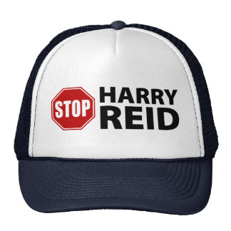 Stop Harry Reid Mesh Hat