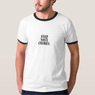 STOP HATE CRIMES. T-Shirt
