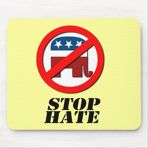Stop Hate Mousepads
