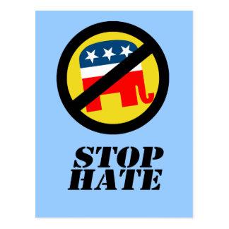 Stop Hate Postcard