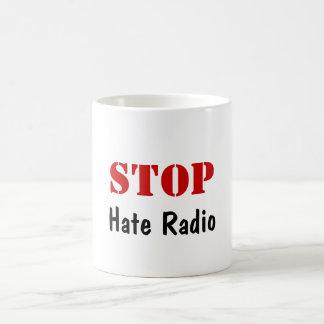 STOP Hate Radio Classic White Coffee Mug