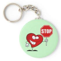 Stop Heart Disease Keychain