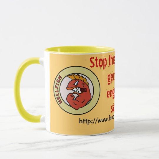 stop hell-fish mug