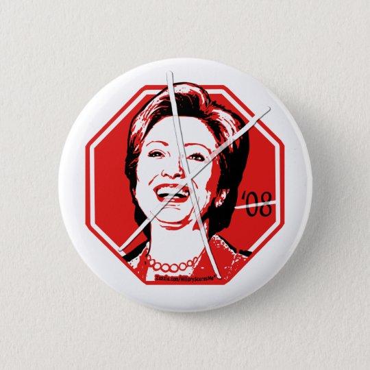 Stop Hillary Anti-Hillary Button