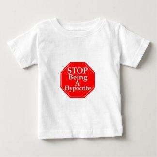 Stop Hypocrisy Baby T-Shirt