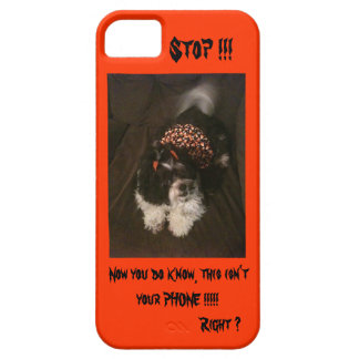 Stop, I phone case