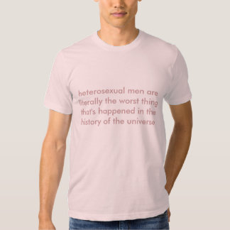 stop idolizing straight men shirt