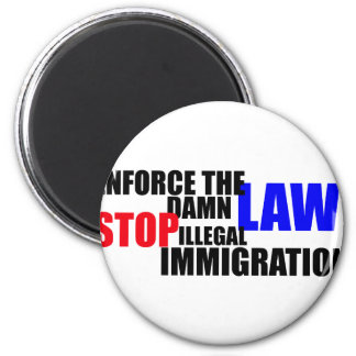 stop illegal immigration fridge magnets