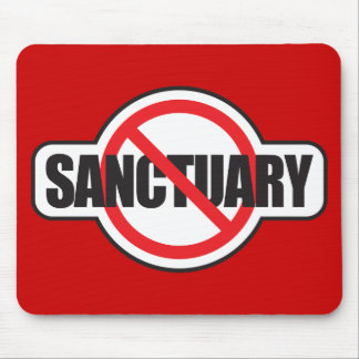 Stop Illegal Immigration - No Sanctuary Mousepad