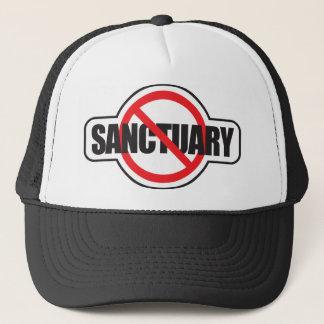 Stop Illegal Immigration - No Sanctuary Trucker Hat