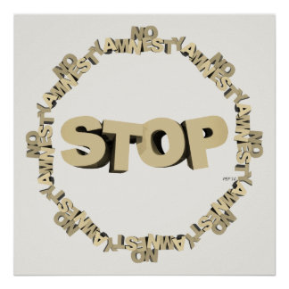 Stop Illegal Immigration Poster