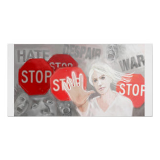 STOP IN THE NAME OF LOVE POSTER