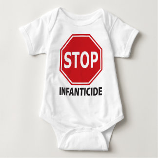 Stop Infanticide Baby Bodysuit