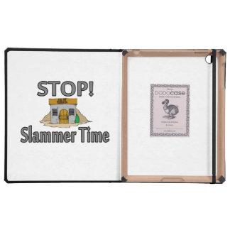Stop It's Slammer Time iPad Folio Case
