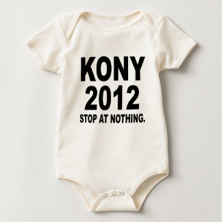 Stop Joseph Kony 2012, Stop at Nothing, Political Baby Bodysuit