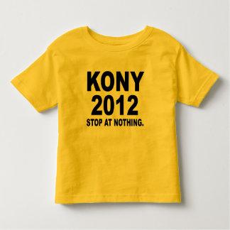 Stop Joseph Kony 2012, Stop at Nothing, Political Toddler T-shirt