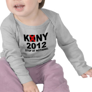Stop Joseph Kony 2012, Stop at Nothing, Political T Shirts