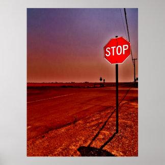 """Stop"" JTG Art Poster"