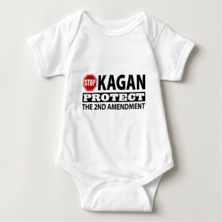 Stop Kagan Protect the Second Amendment Baby Bodysuit