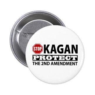 Stop Kagan Protect the Second Amendment Button