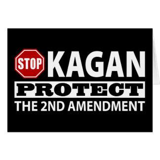 Stop Kagan Protect the Second Amendment Card