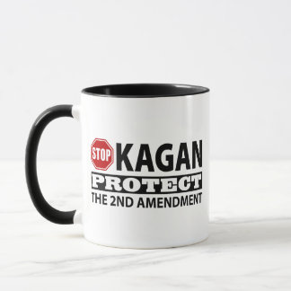 Stop Kagan Protect the Second Amendment Mug