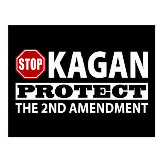 Stop Kagan Protect the Second Amendment Postcard
