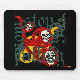 Stop Killing Now Mousepad