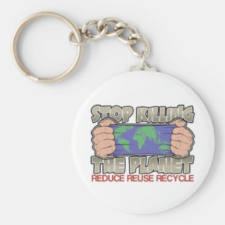Stop Killing the Planet Key Chains