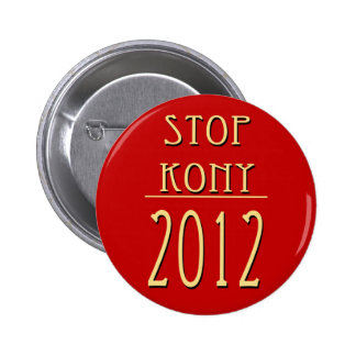 Stop Kony 2012 2 Inch Round Button