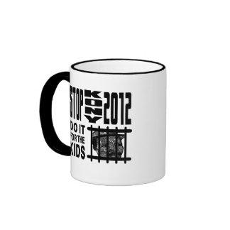 Stop Kony 2012 - Do it for the KIDS Ringer Coffee Mug