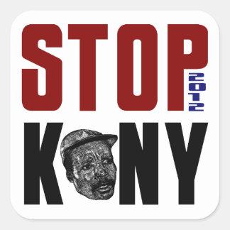 Stop Kony 2012 Square Sticker
