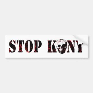 Stop Kony Bumper Sticker