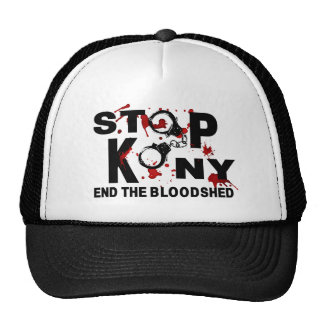 Stop Kony. End the Bloodshed. Hat