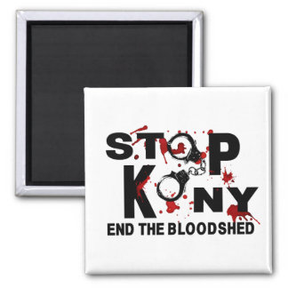 Stop Kony. End the Bloodshed. Magnets