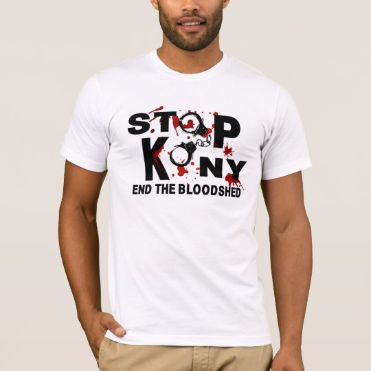 Stop Kony. End the Bloodshed. T-Shirt