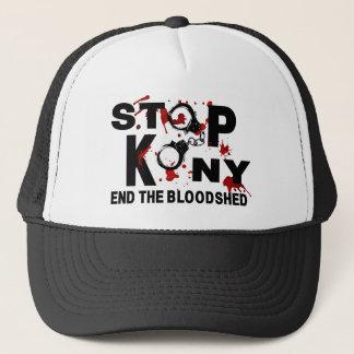 Stop Kony. End the Bloodshed. Trucker Hat