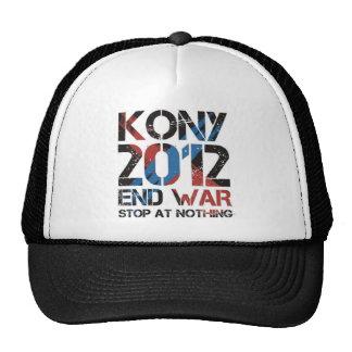 Stop Kony Mesh Hats