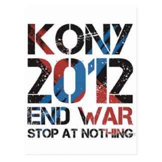 Stop Kony Postcard