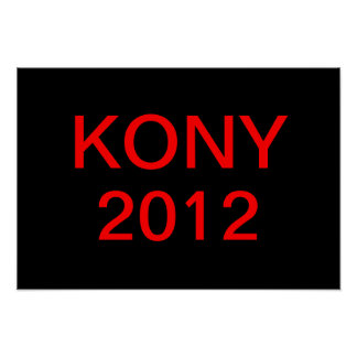 Stop Kony Poster