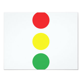 stop light icon card