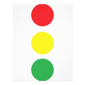 stop light icon flyer