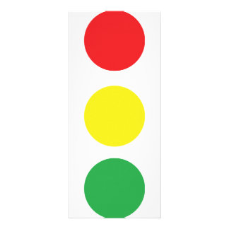 stop light icon rack card