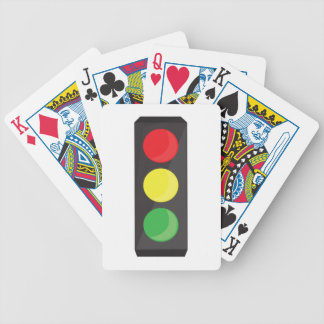 Stop Light Bicycle Playing Cards