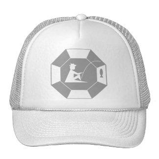 stop_line_fishing_grey trucker hat