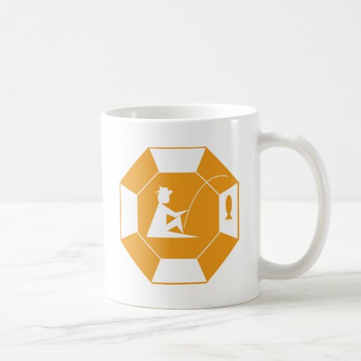 stop_line_fishing_orange taza de café